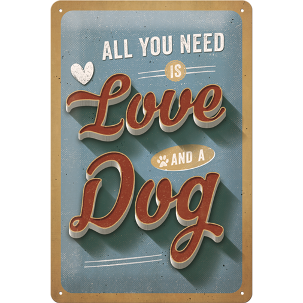 Bilde av All You Need is Love and A Dog A4