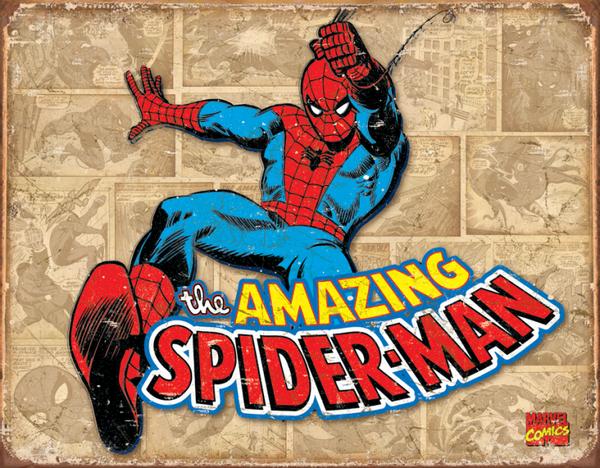 Bilde av Spider-Man Retro Panel