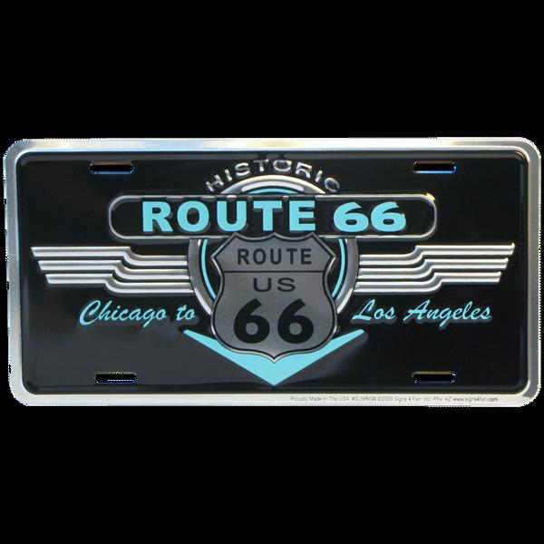 Bilde av Historic Route 66 Black Neon