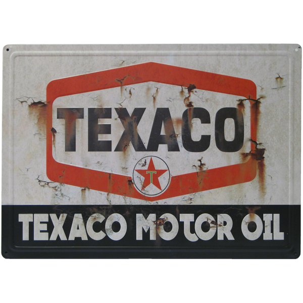 Bilde av Texaco Motor Oil Rusted