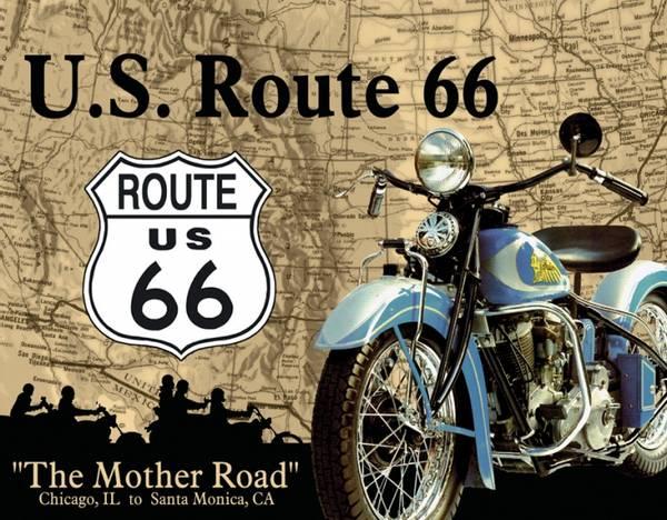 Bilde av Route 66 MC Map