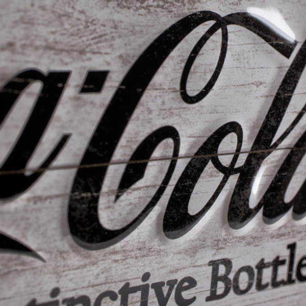 Coca-Cola Bottle Timeline A3