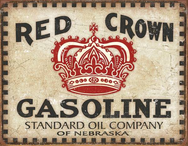 Bilde av Red Crown Gas Checker Board