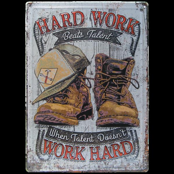Bilde av Hard Work Beats Talent