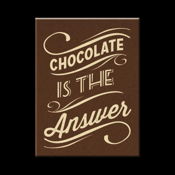 Bilde av Chocolate is the Answer