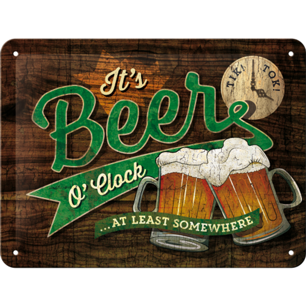 Beer O'Clock Glasses