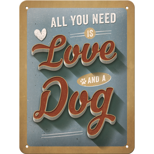 Bilde av All You Need is Love and A Dog A5