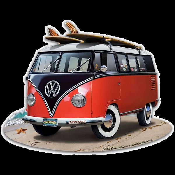 Bilde av Volkswagen Bus Red