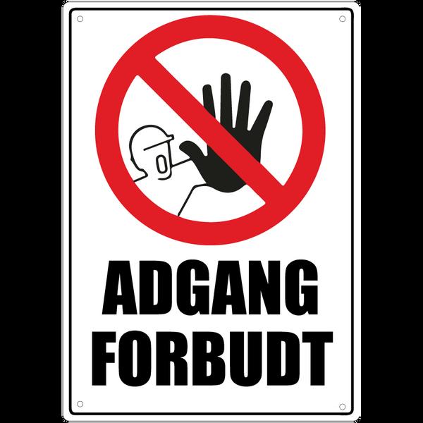 Bilde av Adgang Forbudt A4
